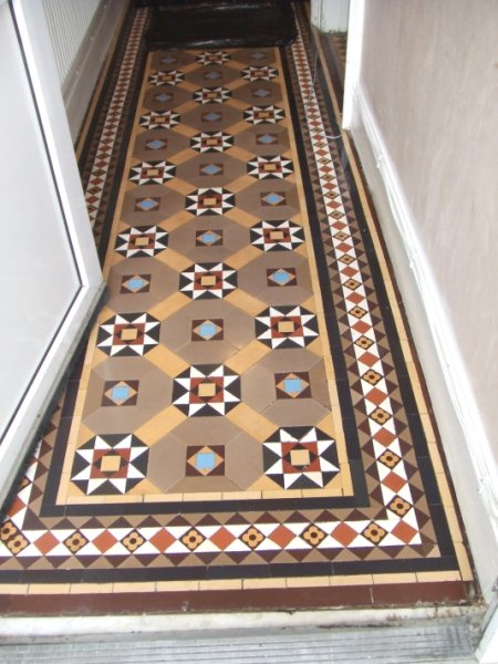 Victorian Hallway Floor Restoration After