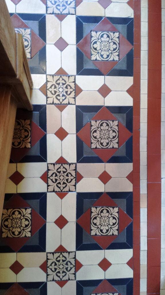 Victorian Floor After Cleaning in Cardiff