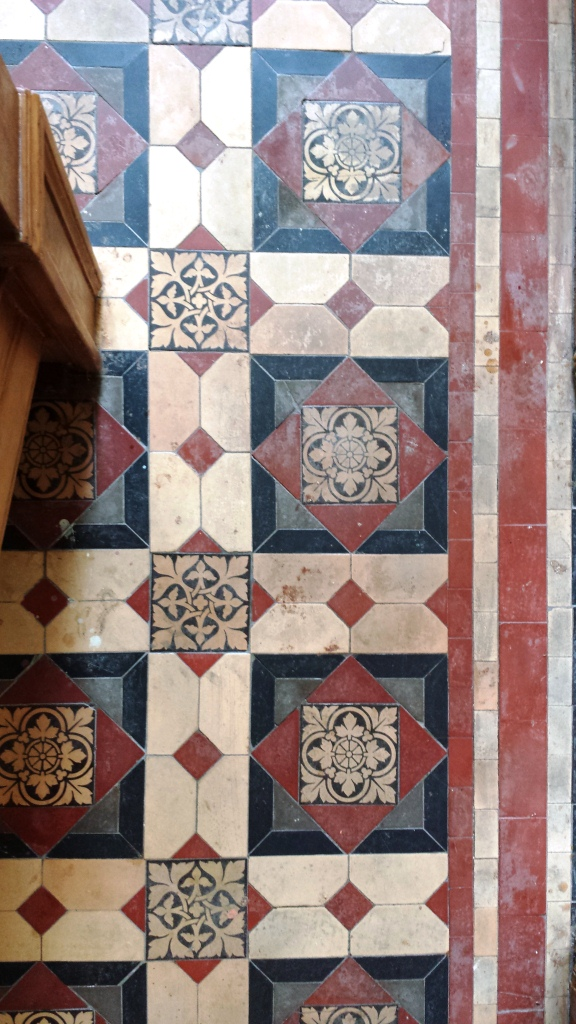 Victorian Floor Before Cleaning in Cardiff