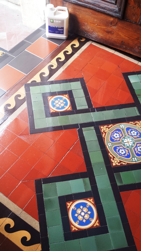 Victorian Tile Issue Resolved in Gwent After Sealing