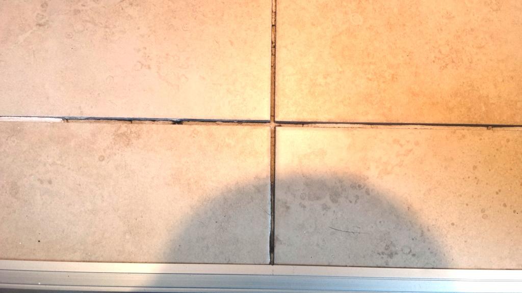 Cracked Bathroom Floor Tile Repair Cardiff