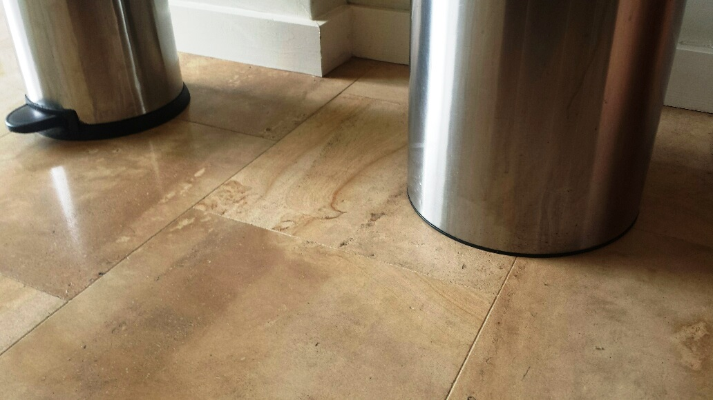Limestone Reduxa After Stain Removal