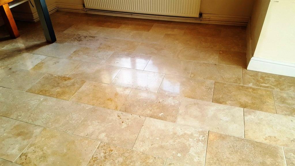Polished Limestone After Burnishing Cowbridge