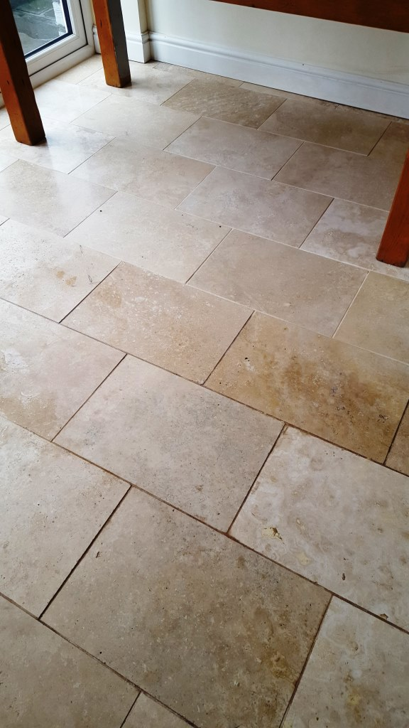 Polished Limestone Before Burnishing Cowbridge