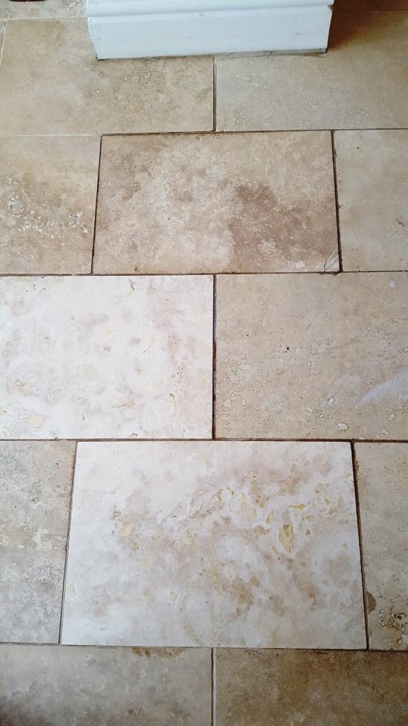 Polished Limestone Before Burnishing Cowbridge