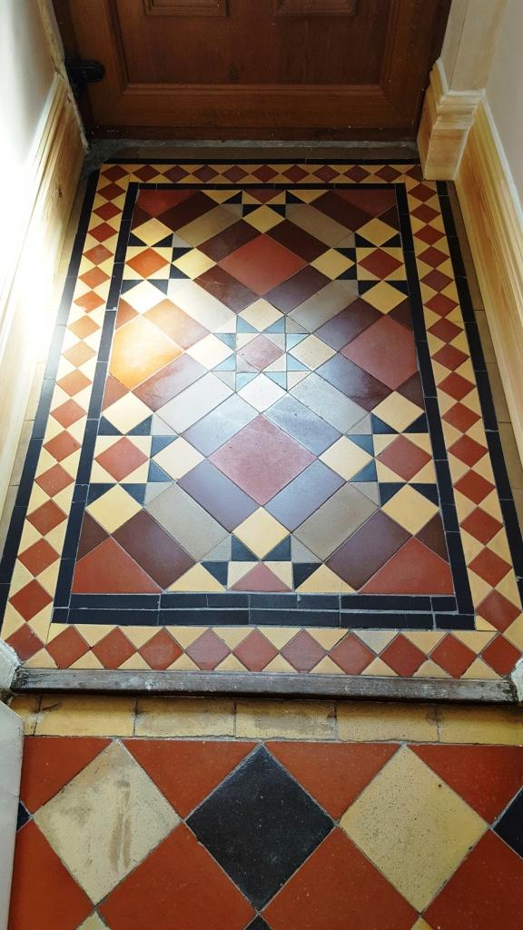 Victorian-Tiled-Lobby-Floor-After-Restoration-Swansea-112433