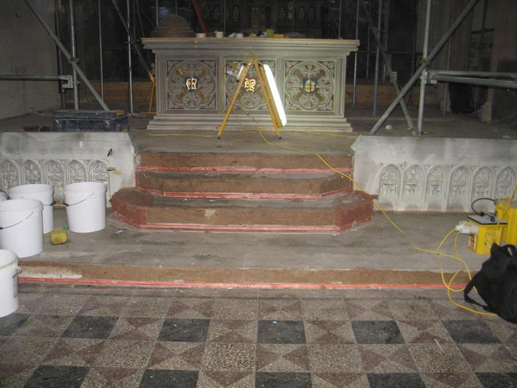 St Marys Church Bath Before Fire Restoration