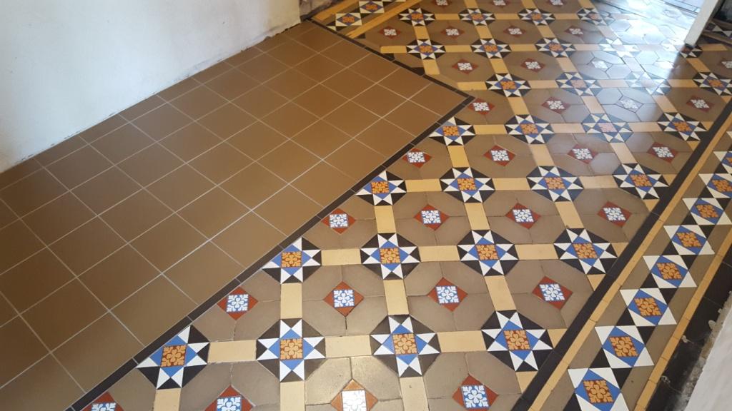 Victorian Hallway Penarth Before Restoration