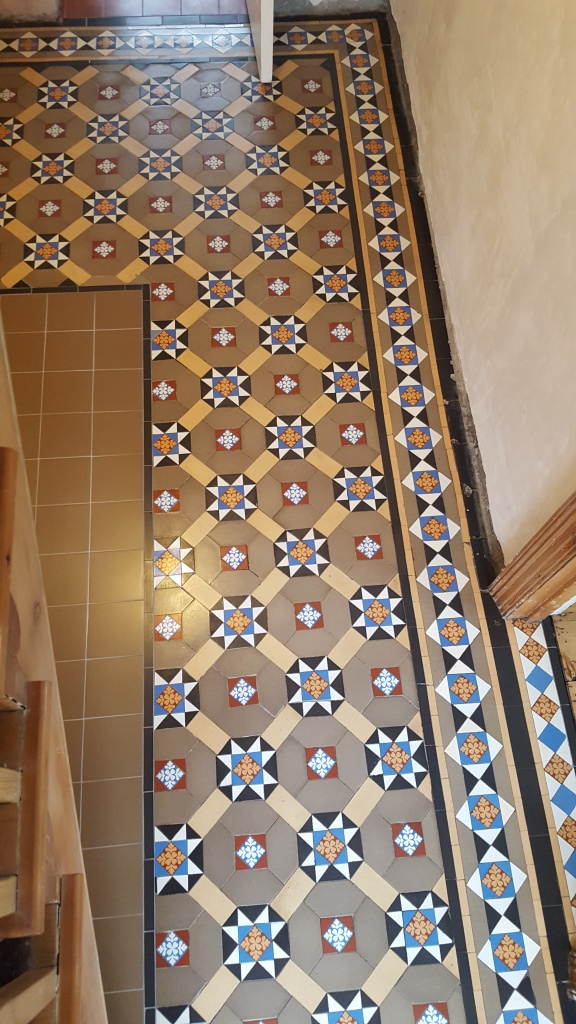 Victorian Hallway Penarth After Restoration