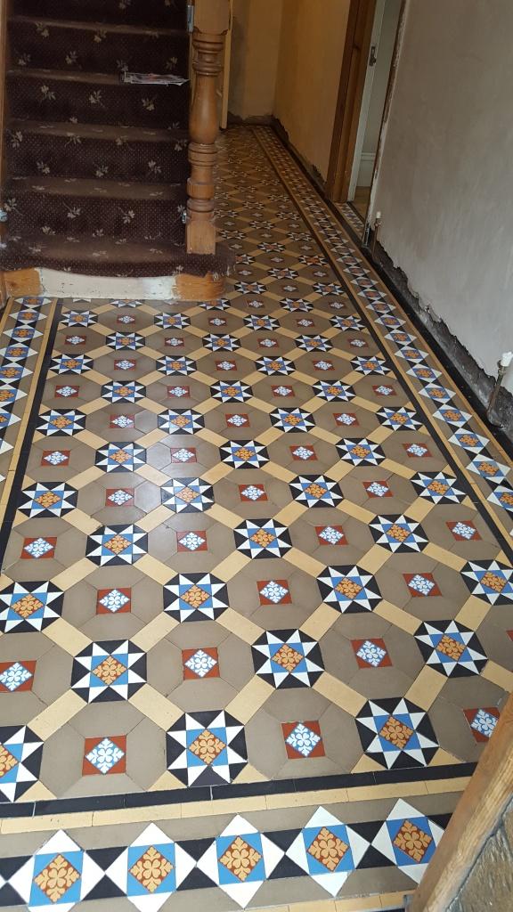 Victorian Hallway Penarth After Restoration