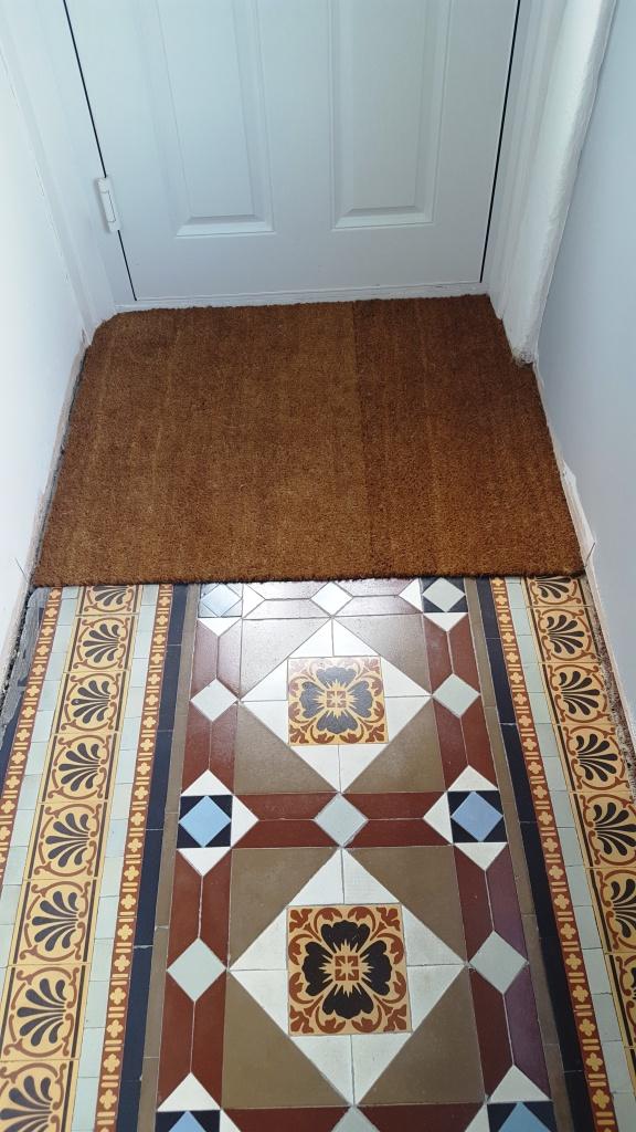 Victorian Hallway Floor Blackwood After Restoration