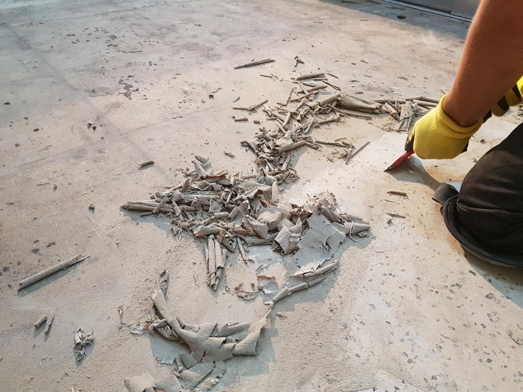 Terrazzo Floor During Restoration Cardiff University
