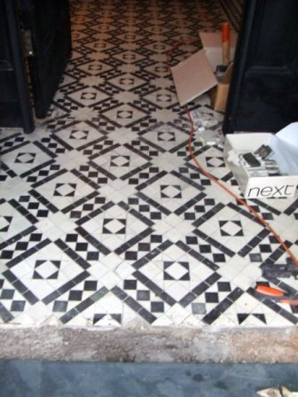 Geometric Floor Before