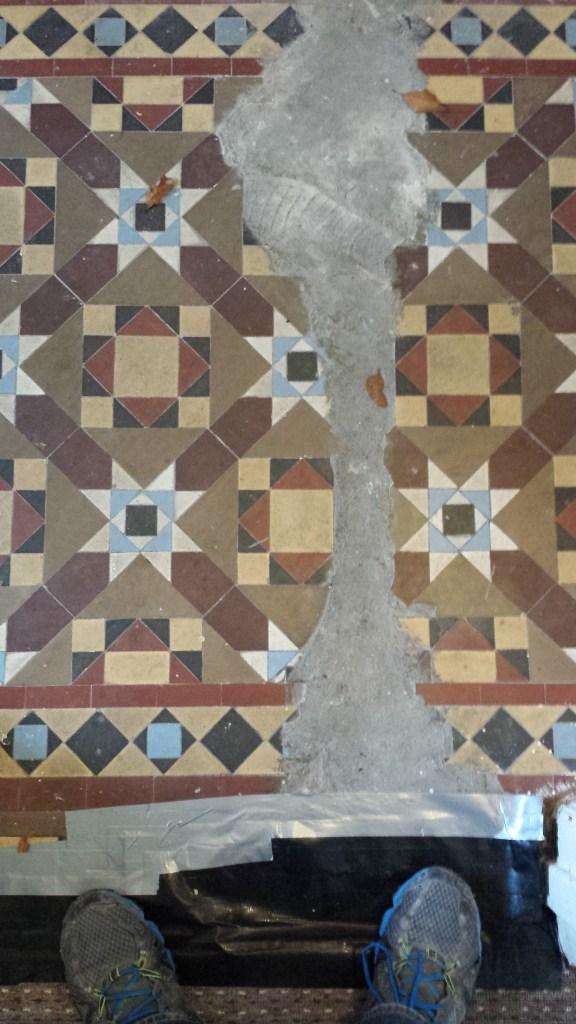 Restoring A Damaged Victorian Tiled Hallway In South Wales Tile
