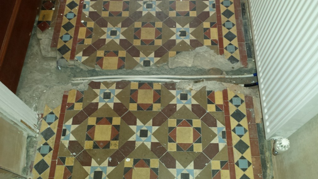 Restoring A Damaged Victorian Tiled Hallway In South Wales Tile