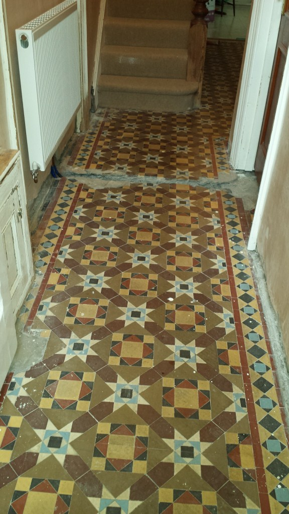Abused Victorian Floor Cardiff Before
