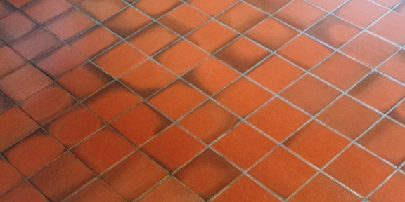 Kitchen Quarry Tiles Cleaned and Sealed in Cardiff