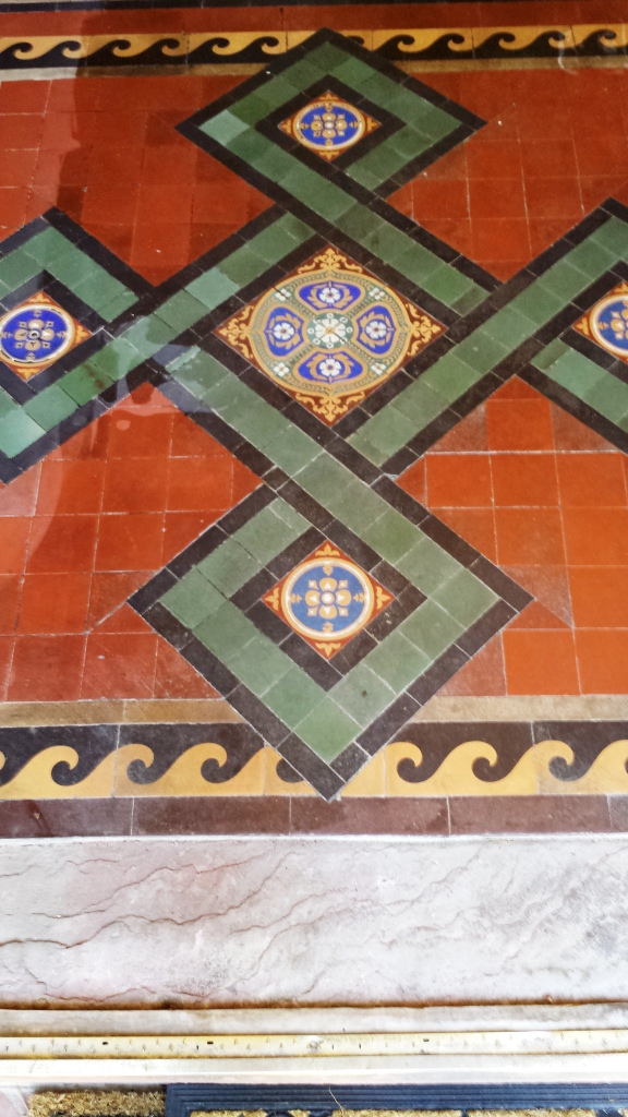 Victorian Tile Issue Resolved in Gwent Before
