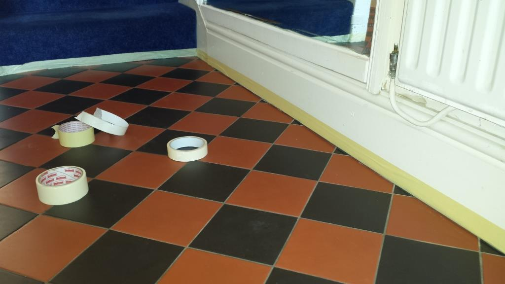 Versatile Tile Cleaning Penarth Masking