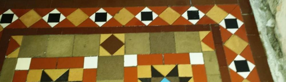 Victorian Tiled Floor Discovered in Splot After