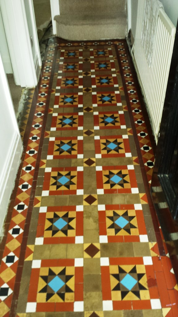 Victorian Tiled Floor Discovered in Splot After