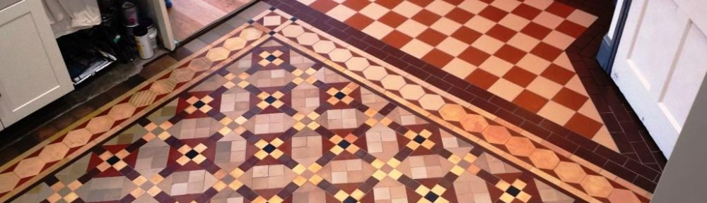 Full Restoration of a Victorian Tiled Hallway Floor in Cardiff