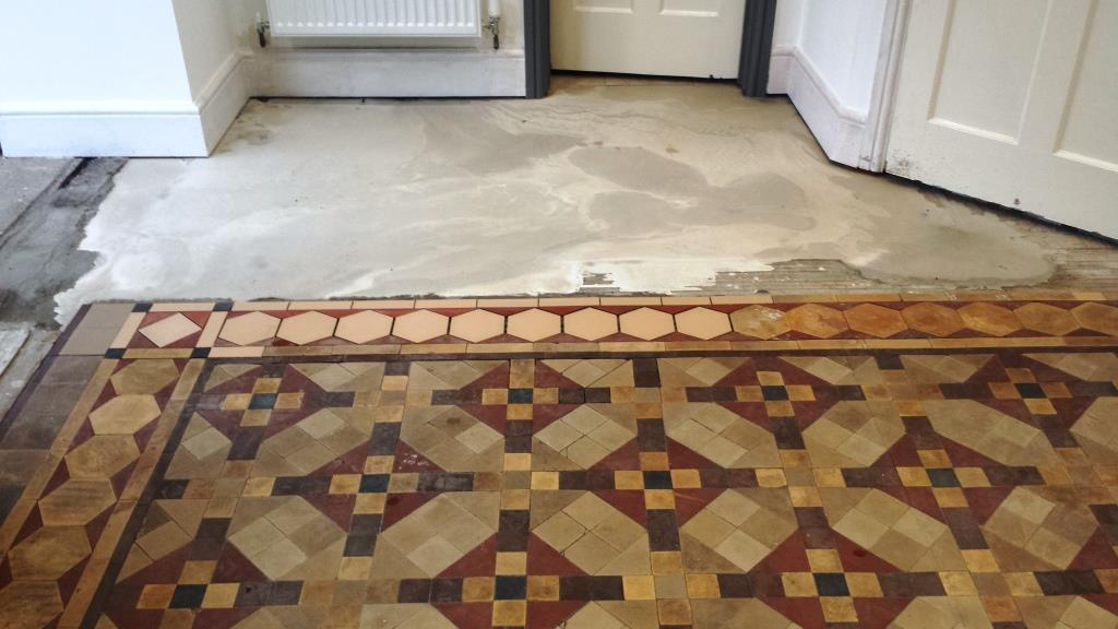 Full Victorian Floor Restoration Cardiff Levelling Compound