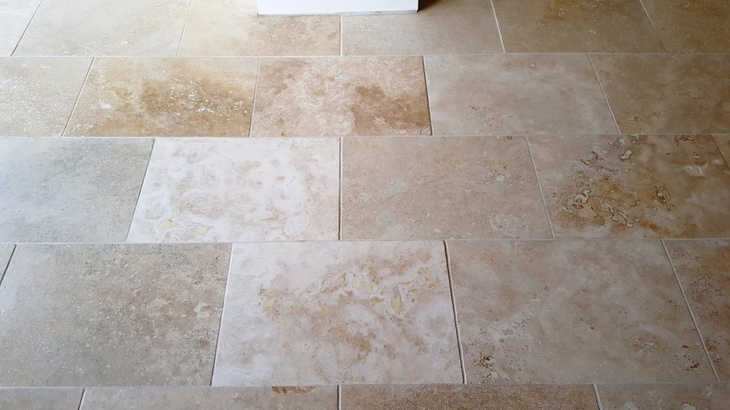 Polished Limestone After Cleaning Cowbridge