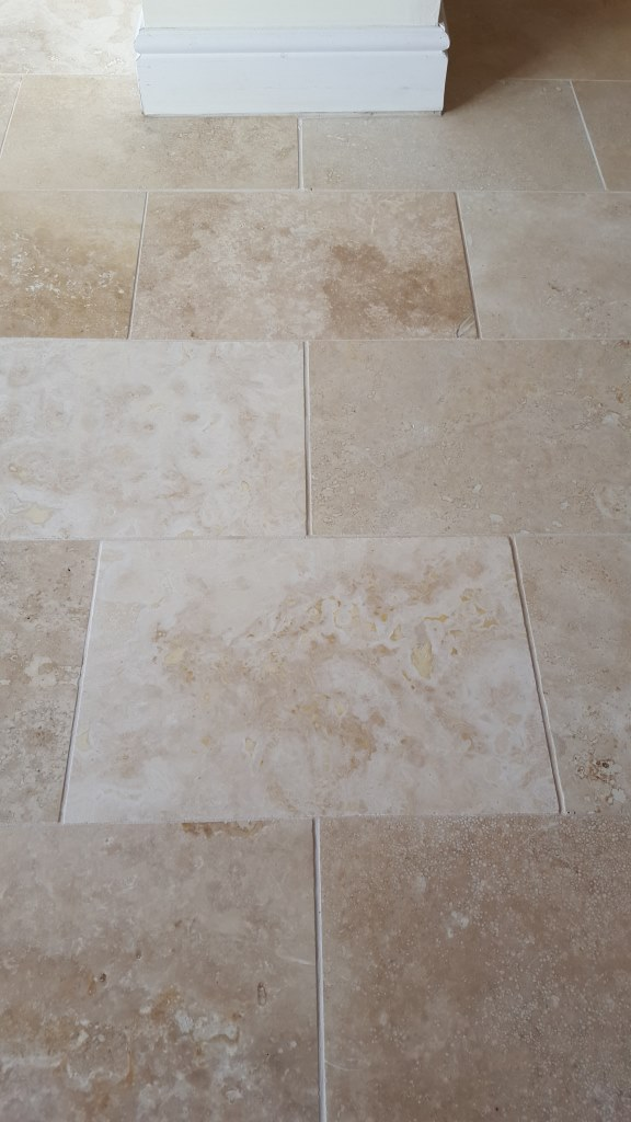 Polished Limestone Cleaned Grout Cowbridge