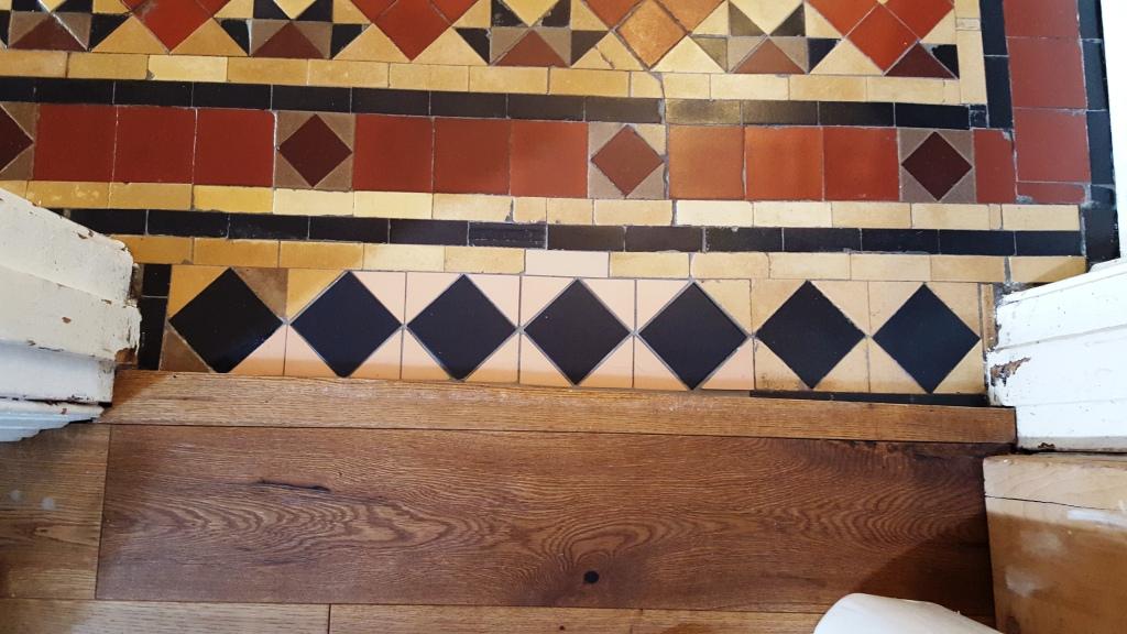 Victorian Tiled Floor Restoration Pontcanna