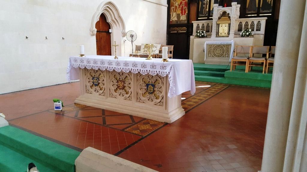St Marys Church Bath After Fire Restoration