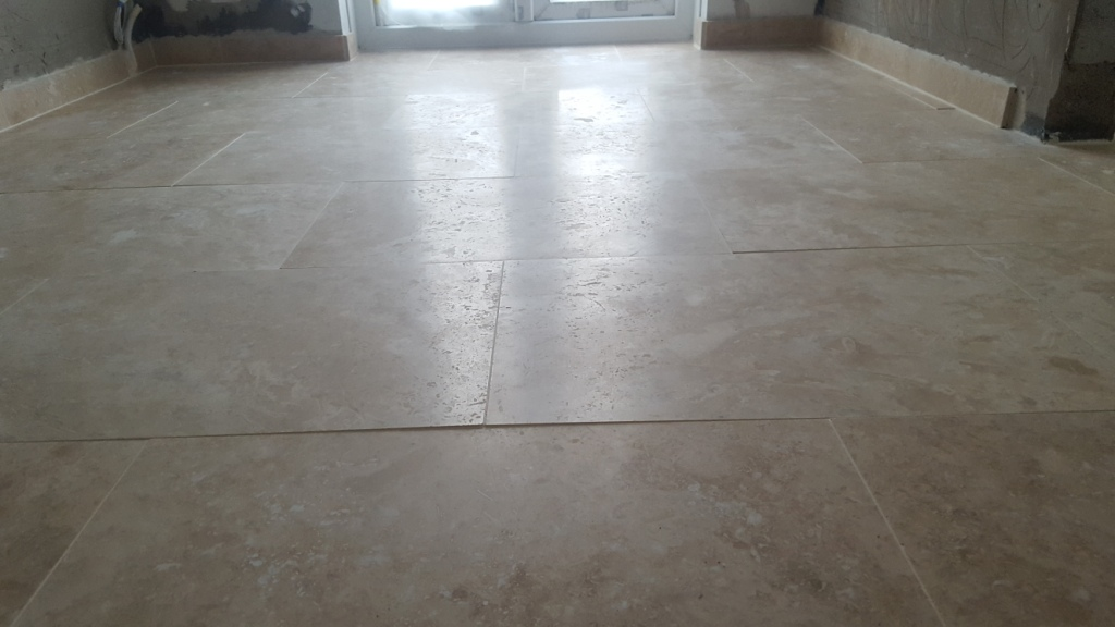 Removing Lippage From A Polished Travertine Floor
