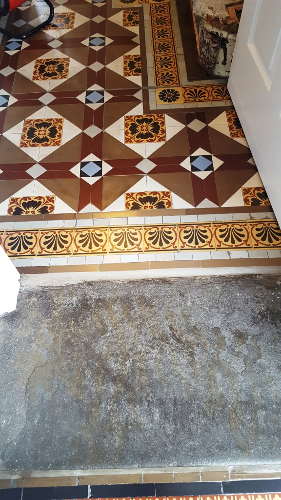 Victorian Hallway Floor Blackwood After Restoration