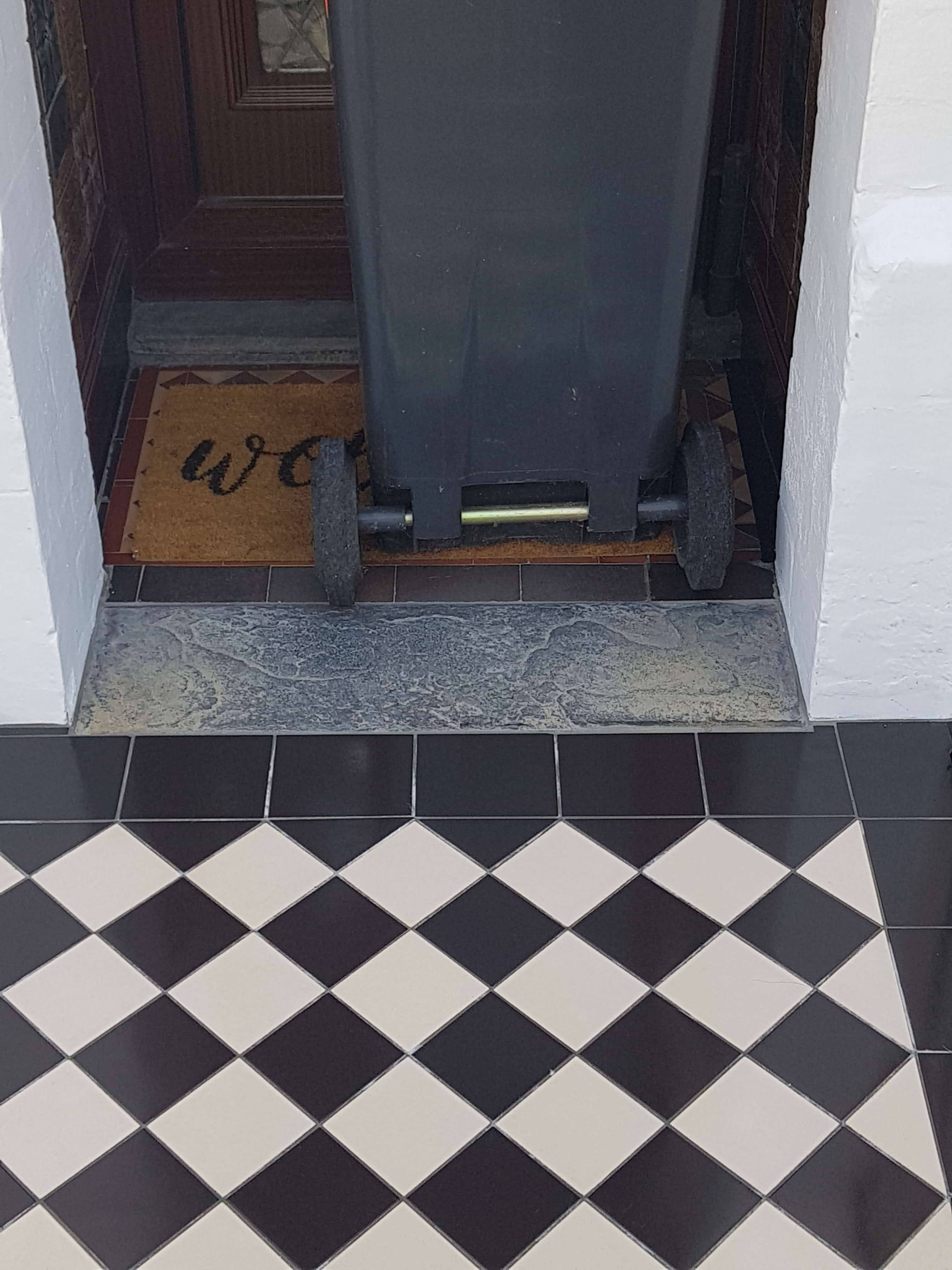 Tiling Cardiff Property Frontage